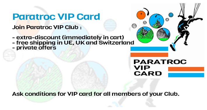 join Paratroc VIP club