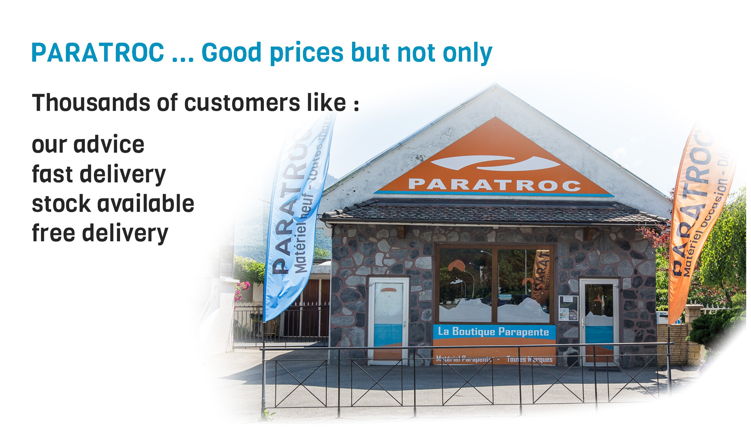 Paratroc - Prices but not only