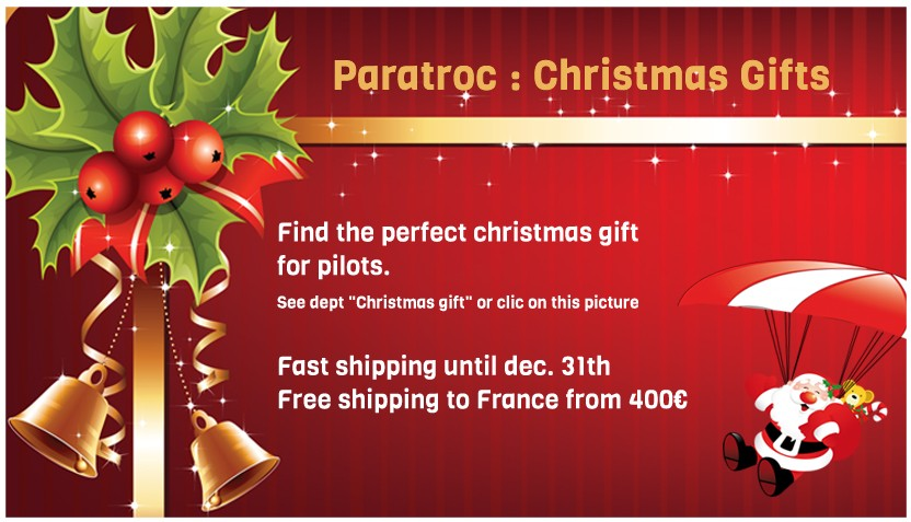 Find the perfect christmas gift for paragliding pilots