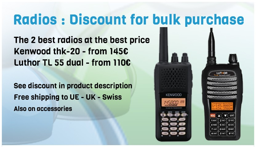 discount of the best radios for paragliding