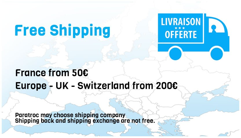 paratroc.com - Free shipping in Europe