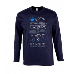 Fly With Me - T-shirt City LS