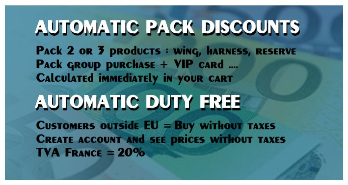 Discount and VAT free
