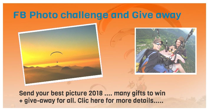 Photo Challenge – Give away Paratroc
